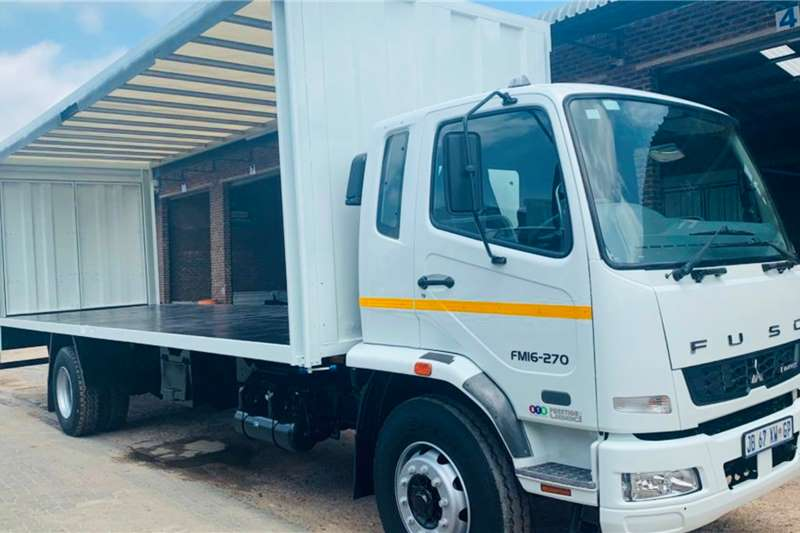 Fuso FM 16 270 Curtain side trucks