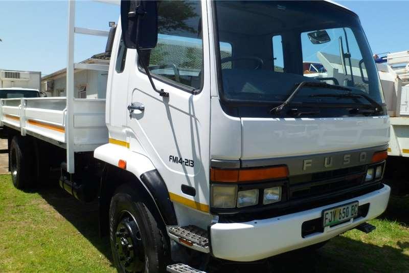 Fuso Dropside trucks 14 213 8 ton 2010
