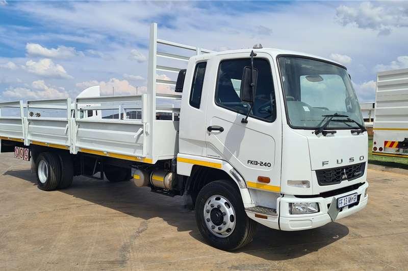 Fuso 2015 FUSO FK13 240, 7m Dropside Loadbody (8tonner) Dropside trucks