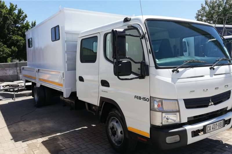 Fuso Dropside with removable People Carrier 5 Ton Dropside trucks