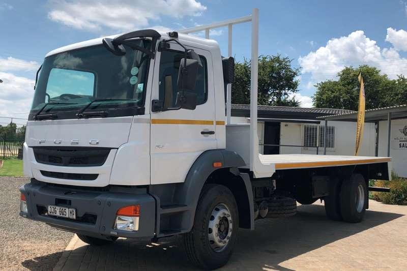 Fuso Flatbed trucks 16.230 LWB Flatdeck 2017