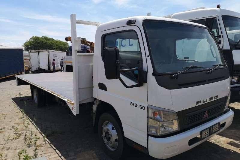 Fuso Flatbed trucks FM14 213 2010