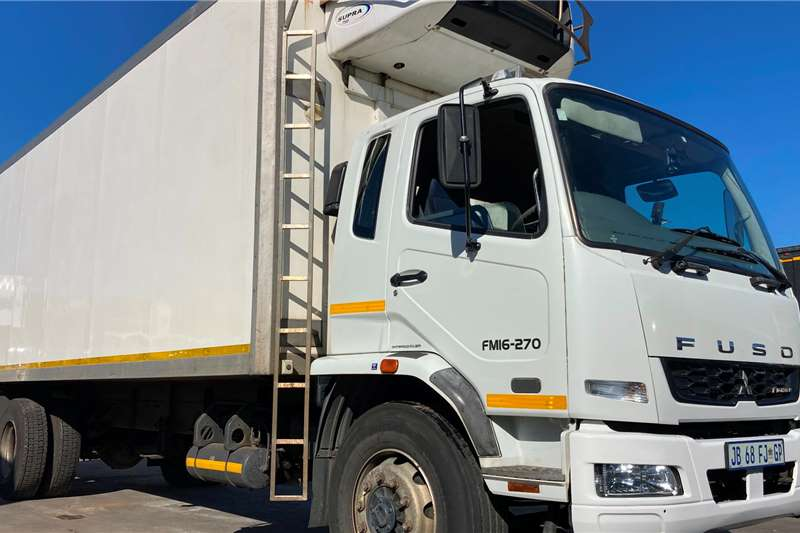 2016 Fuso  FM16.270 REEFER WITH CARRIER SUPRA 750 UNIT