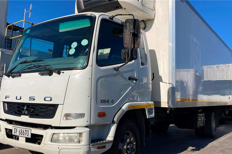 Fuso FK13.240 REEFER WITH CARRIER SUPRA 750 UNIT Refrigerated trucks