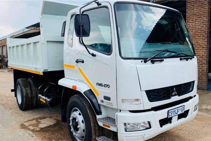 Fuso Tipper trucks FM 15 270 2013