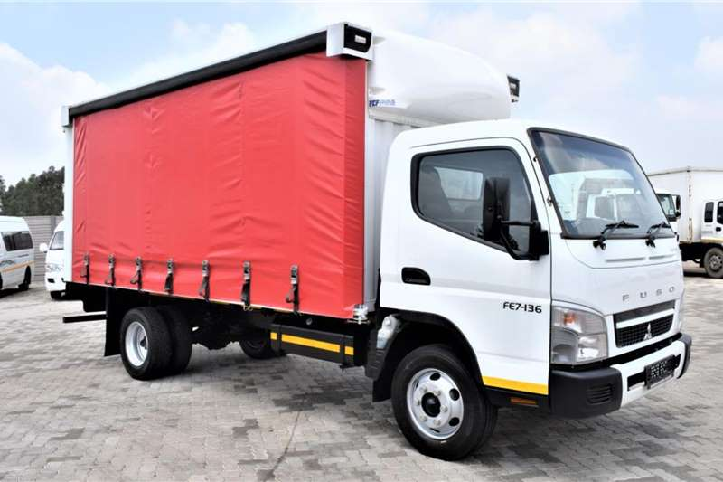 Fuso Truck Canter FE7 136 Curtain Side (4 ton ) 2019