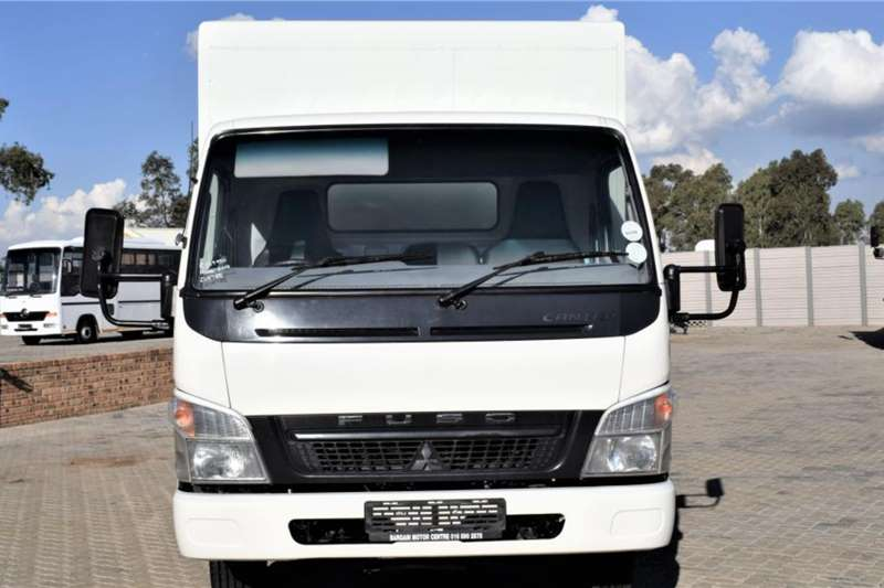 Fuso Canter FE7 136 Mesh Cage Body Truck