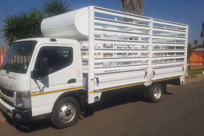 Fuso Truck Cattle body FE7 150 2014