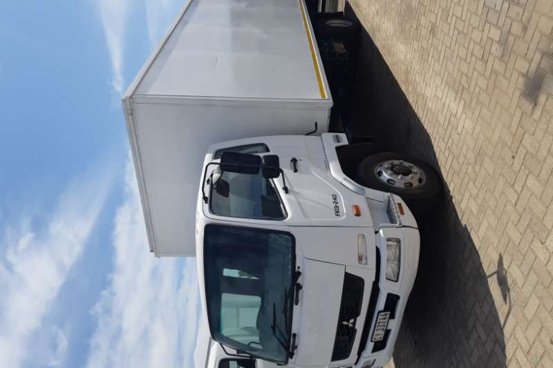 Fuso Truck Closed body FK 13.240 2012