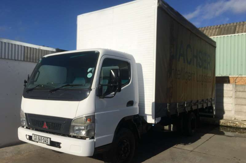 Fuso Truck Curtain side CANTER FE7 136 TAUTLINER 2009