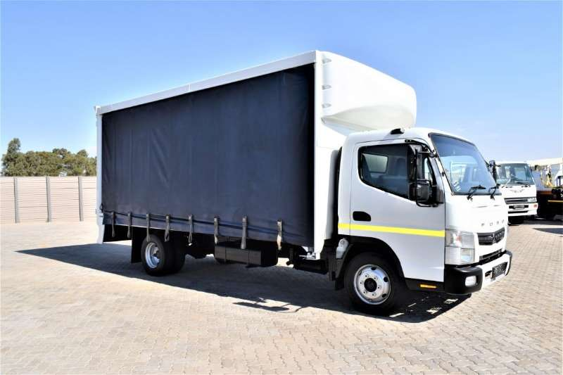 Fuso Truck Curtain side Canter FE8 150 Auto 2015