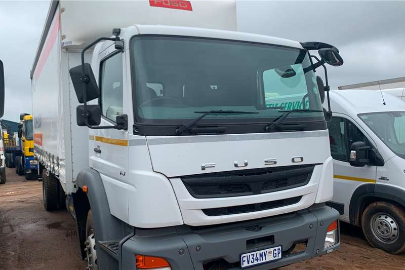 Fuso Truck Curtain side FJ16 230S 2017