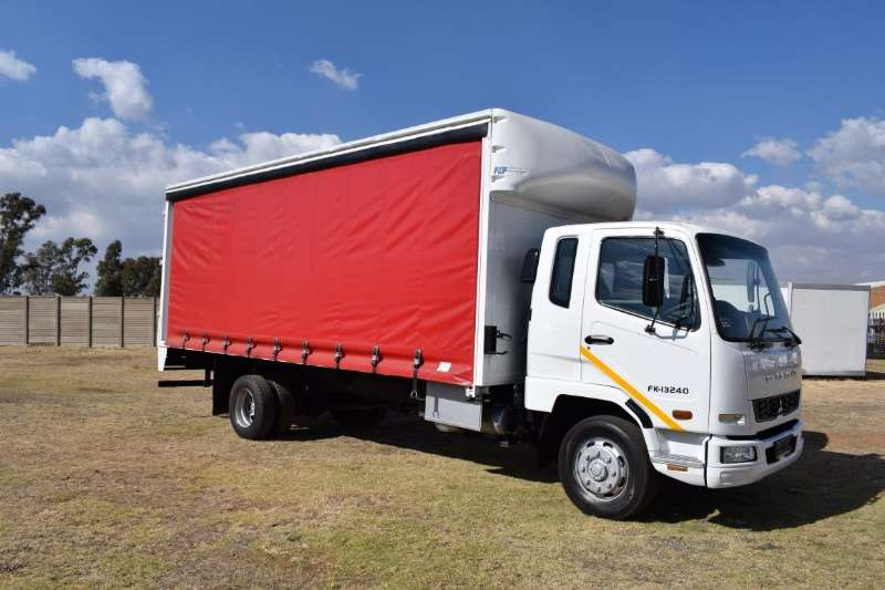 Fuso Truck Curtain side FK13 240 8 ton 2011