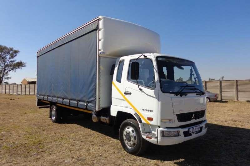 Fuso Truck Curtain side FK13 240 8 Ton 2014
