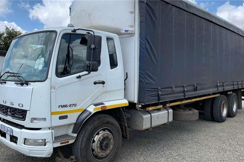 Fuso Truck Curtain side FM16 270 6x2 LWB Curtainside 2017