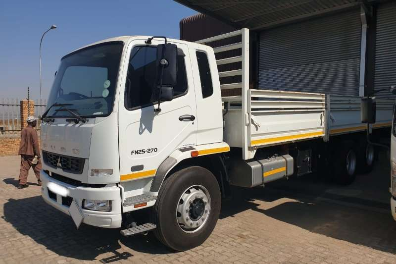 Fuso Truck Dropside 2015 Fuso FN25 270 With 8 ton drop sides 2015