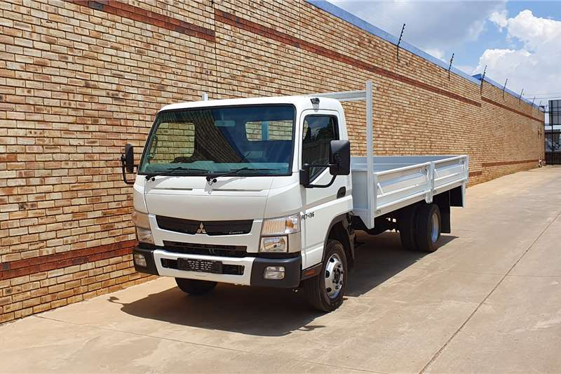 Fuso Truck Dropside 7 136,4 TON WITH NEW DROPSIDE BODY,LIKE NEW 2019