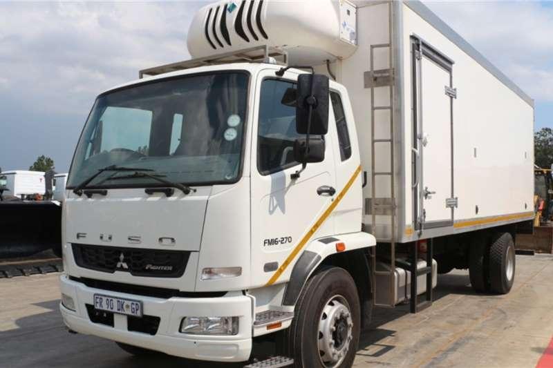 Fuso Truck FM16 270 4x2 Refrigerated Truck Transfrig MT450i 2017