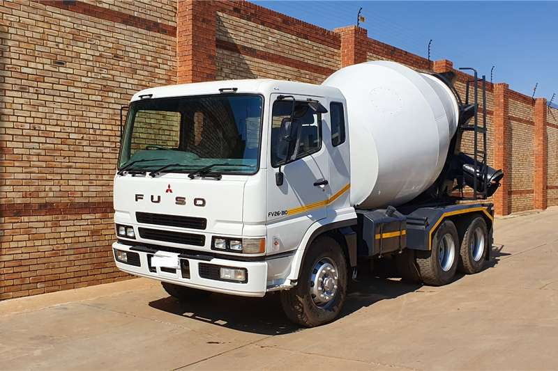 Fuso Truck FV26 310,6x4 WITH TFM CONCRETE MIXER EQUIPMENT 2007
