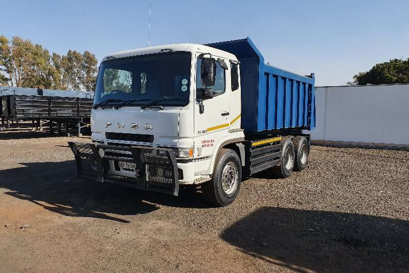 Fuso Truck Tipper 26.340 12 cub 2008