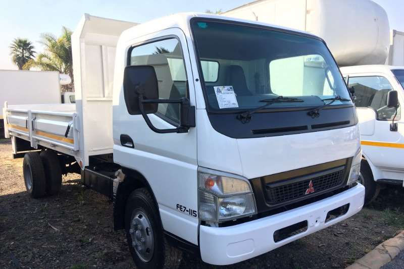 Fuso Truck Tipping body Canter FE7 115 Tipping Body + Dropside Doors 2009