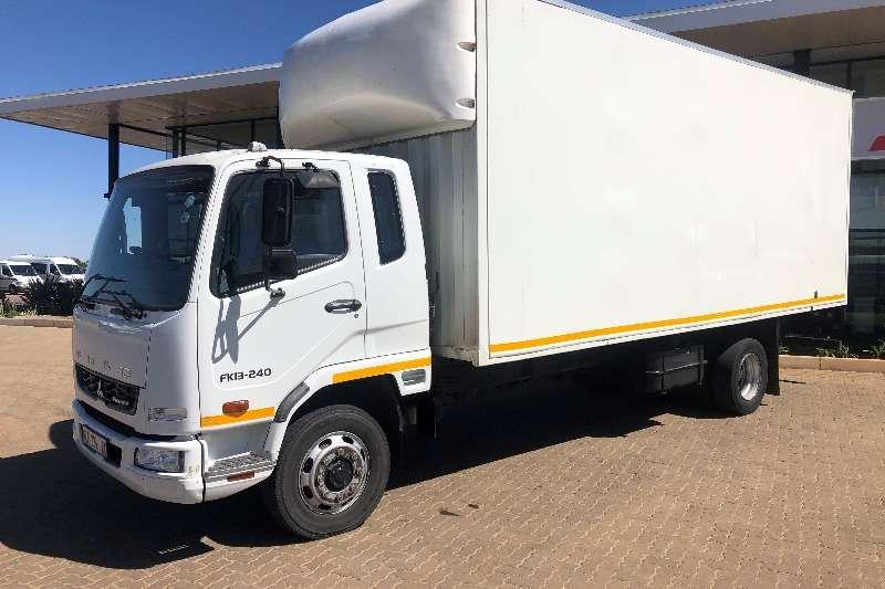Fuso Truck Van body Fuso FK13 240 with 7m Box Body 2017