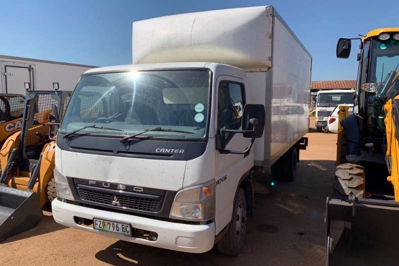 Fuso Truck Volume body CANTER FE7 136 2013