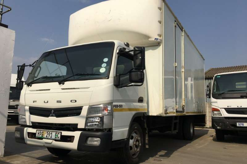 Fuso Truck Volume body FE8 150 volume van (AMT) 2015
