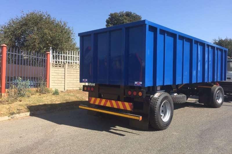 General purpose trailer 5.5M MASS SIDE 1996