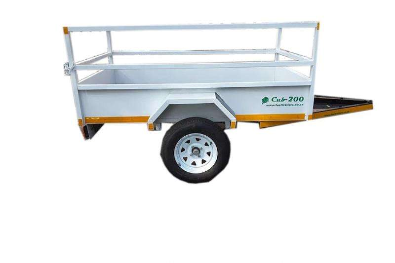 General purpose trailer CUB200 Open Railing Loading Trailer 2019
