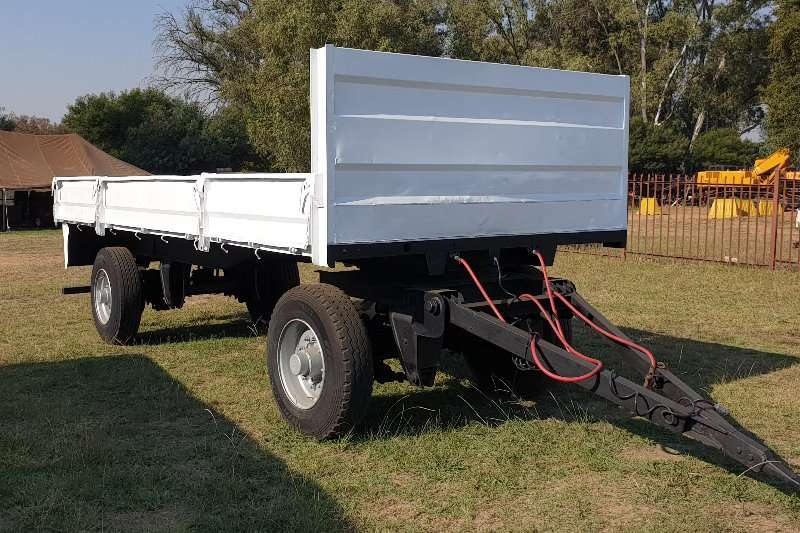 General purpose trailer Henred 2 axle Drawbar Trailer with Dropside Body 2008