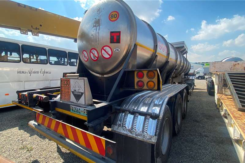 GRW ACID   19 000L 316 Steel Uncladded Well Mantained Trailers