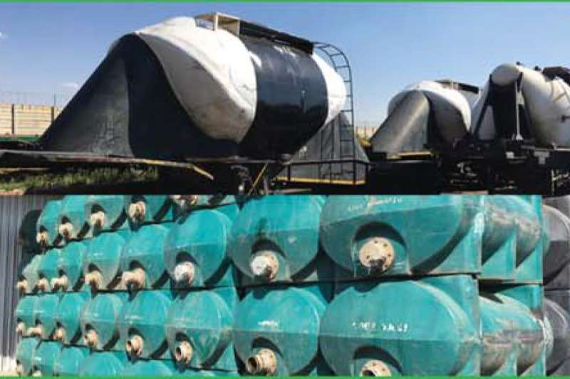 GRW Trailers Dry bulk tanker MOLASSES TANKER & PORTABLE TANKS