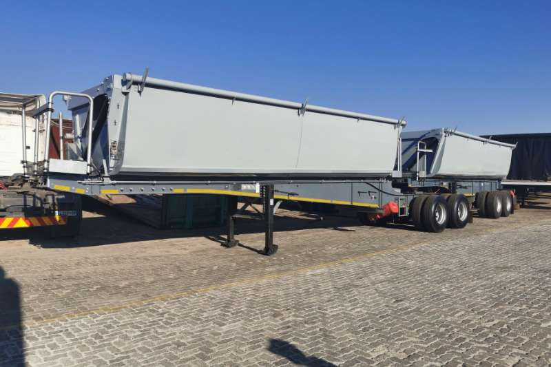 GRW Trailers Side tipper SIDE TIPPER LINK 2018