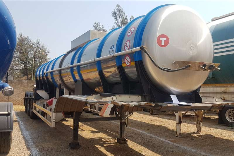 GRW Stainless steel tank Acid Tanker Trailers