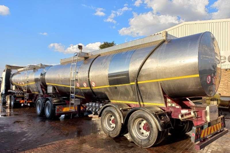 GRW Stainless steel tank Stainless steel tanker Trailers