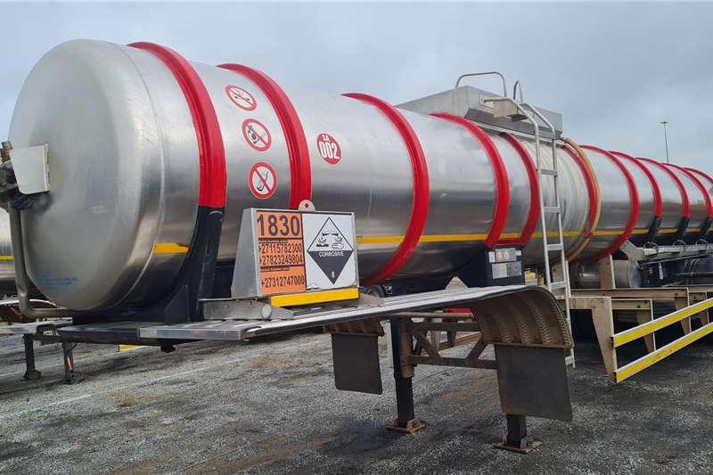 GRW Stainless steel tank Stainless Steel Tanker 316 Trailers