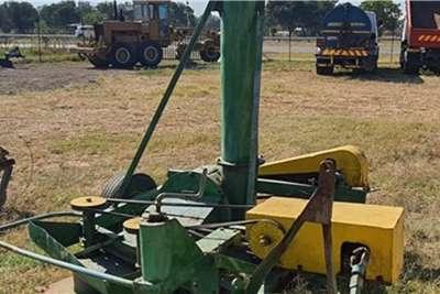 Home Built Grass Cutter   Hammermill Harvesting equipment