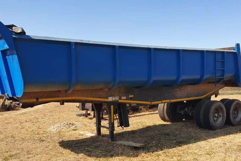 Hendred Trailers End tipping freuhauf