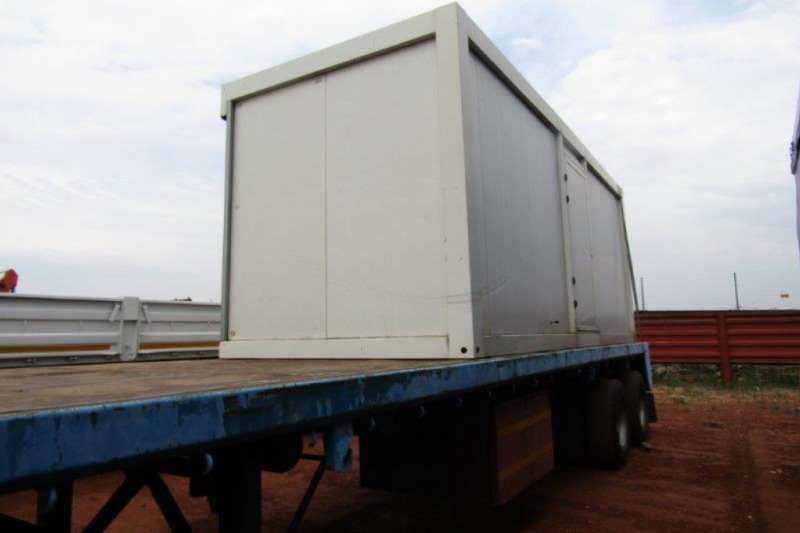 Hendred Trailers Flat deck PLUS CONTAINER 2019