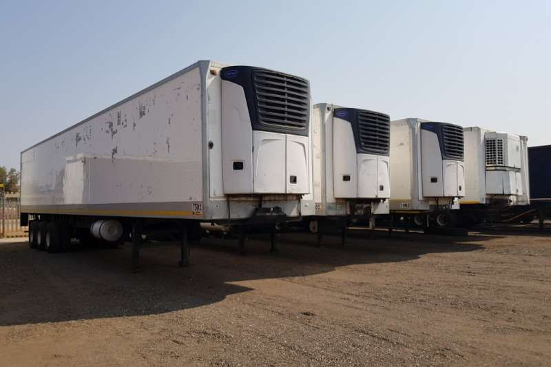 Hendred Trailers Refrigerated trailer Hendred 30plt Triaxle Fridge , Carrier X2100 unit 2012