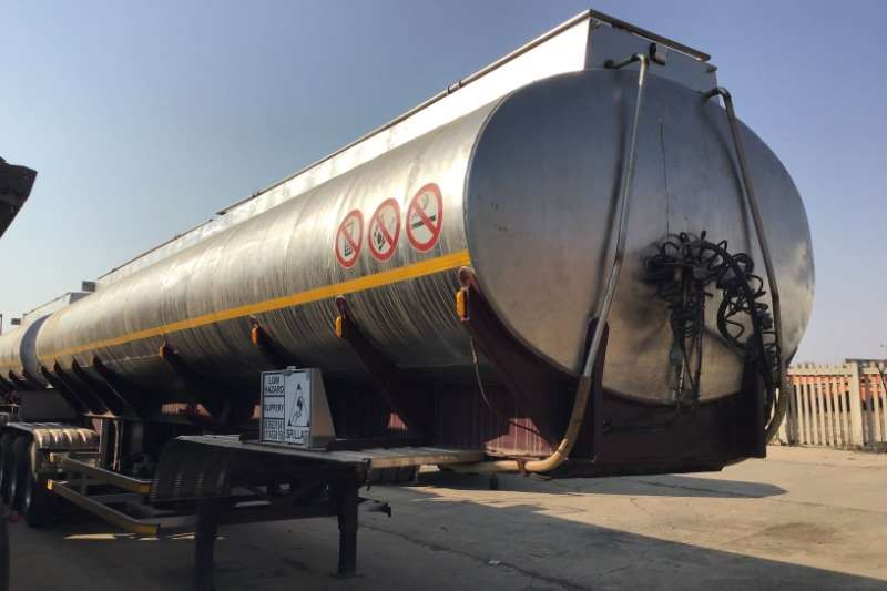 Hendred Trailers Stainless steel tank 1996 Hendred stainless steel link trailer 1996