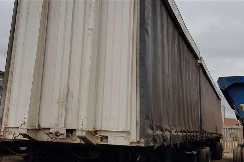 Hendred Tautliner Superlink, Curtain Side Trailers