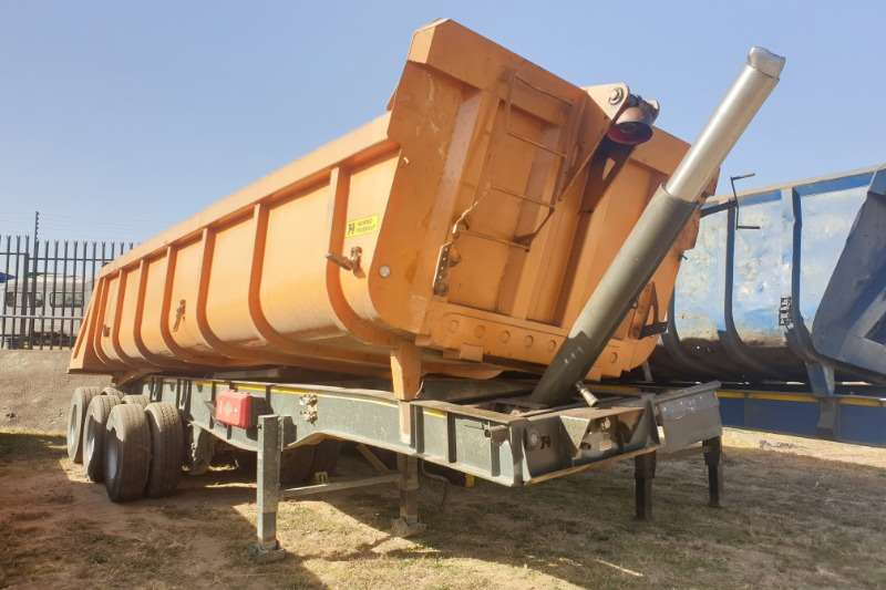 Hendred Trailers Tipping Bulk Trailer 30Cubic slopper tipper 2015