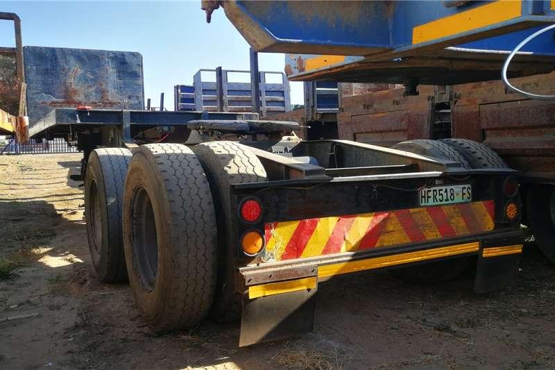 Henred 6.1m Flatdeck trailer