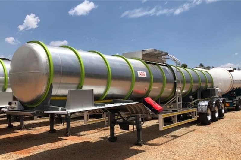Henred Trailers Acid Tanker 22 000litre Tri Axle Acid Tankers 2019
