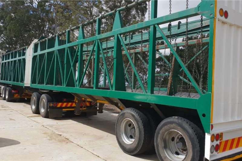 Henred Trailers Cane Hendred Freuhauf Interlink Cane Trailer, Fully Ref 2002