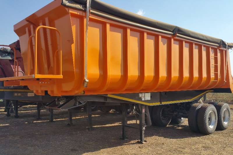 Henred Trailers Copelyn Copelyn end tipper 2020