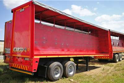 Henred Curtain side 9.6m Double Axle Trailers