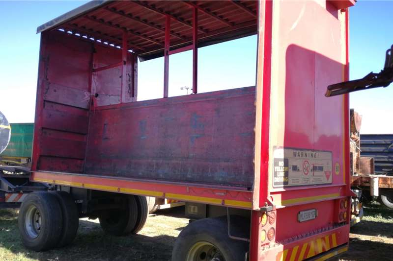 Henred Drawbar / Cable Carrier Trailers